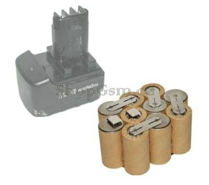 Baterie pro Metabo 6.31747 12V 2500 mAh články Panasonic KIT