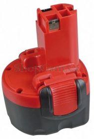Baterie Bosch 260700180 - 9,6V 1700 mAh články Panasonic Ni-Cd