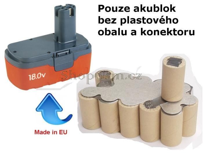 Baterie EXTOL 8891001 18V 2000 mAh NiCd - KIT AEB
