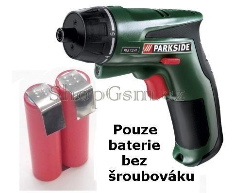 Baterie Parkside PAS 7,2V Li-Ion 2200mAh články Samsung Samsung - AEB