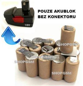 Baterie Parkside X18V-1 KH3191 2,0 Ah NiCd - KIT