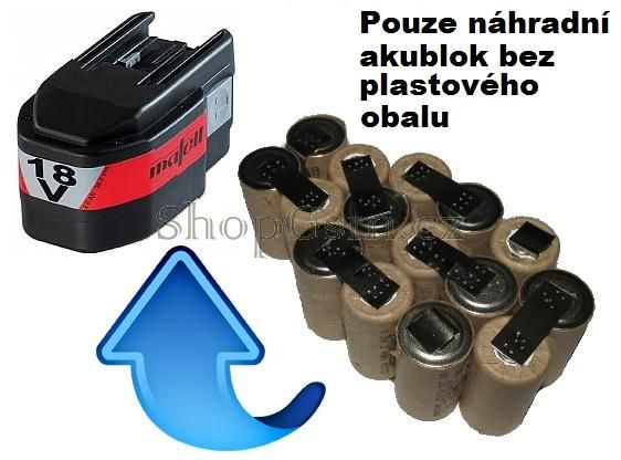 Baterie AEG, Atlas Copco - Mafell 094402, 764649 18V KIT AEB
