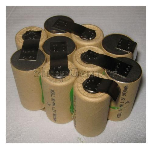 Baterie pro 3M 16398, 12V - 3000 mAh - akublok AEB