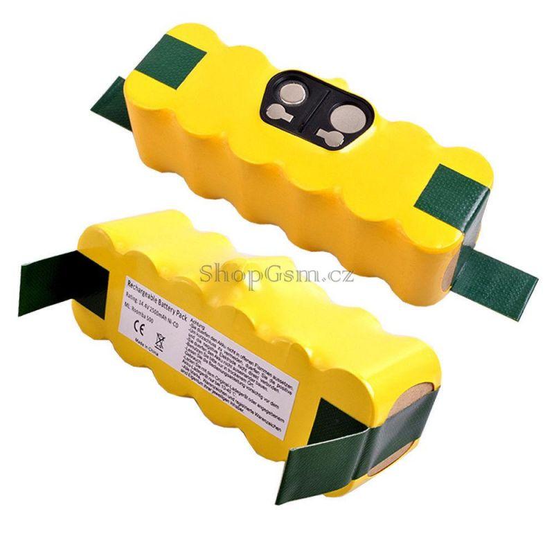 Baterie do vysavače iRobot Roomba 510 - 3300 mAh NiMh 14,4V AEB