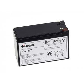 Baterie AEB FWU17 náhrada za RBC17