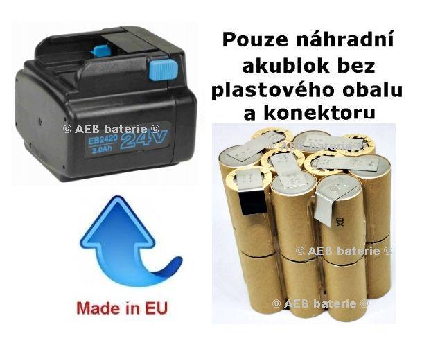 Baterie Hitachi EB2420 3000mAh - akublok Panasonic - AEB