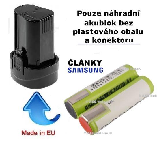 Baterie Narex AP 7 LE 2200 mAh Li-Ion - KIT Samsung Samsung - AEB