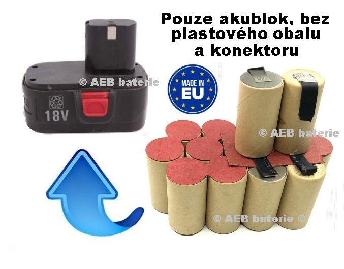 Baterie Parkside JDB 180R 3000 mAh Ni-MH - KIT AEB