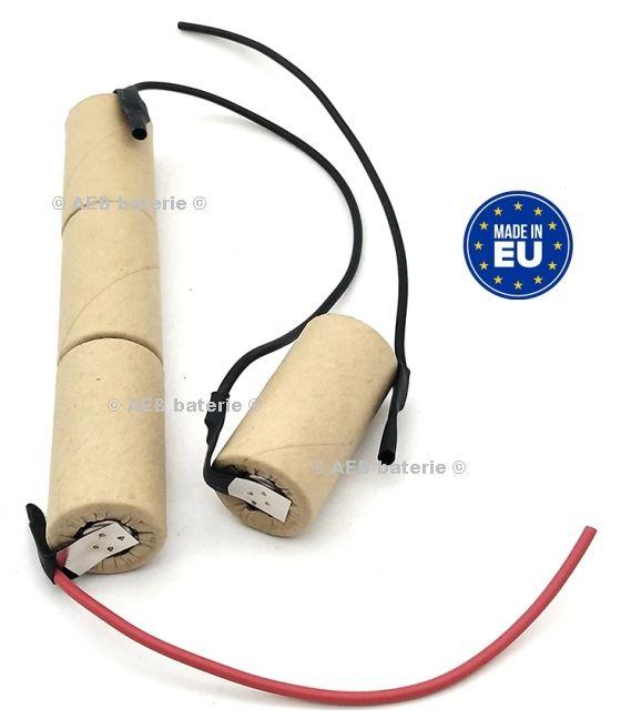 Baterie do vysavače Philips FC6142, FC6140 - 4,8V Ni-MH 3000mAh - sada AEB
