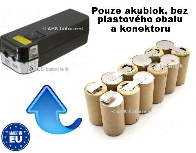 Baterie do vysavače Electrolux 2570 - 14,4V Ni-MH 3000mAh - KIT AEB
