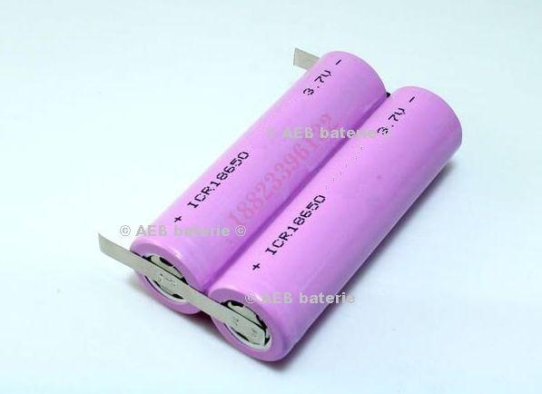 Baterie Samsung 2xINR18650 - 30Q 6000mAh - 15A