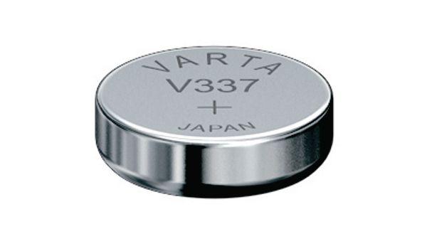 Knoflíková baterie 337 VARTA (SR 416 SW) 1,55V