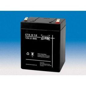 Olověná baterie CTM 12V 2,9Ah faston F1-4,7mm