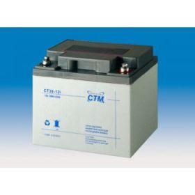 Olověná baterie CTM 12V 38Ah závit M6