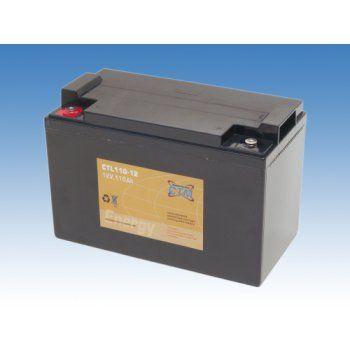 Olověný akumulátor CTM 12V 110Ah závit M6 CTL CTM Components GmbH, Německo