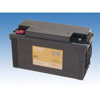 Olověný akumulátor CTM 12V 120Ah závit M6 CTL CTM Components GmbH, Německo