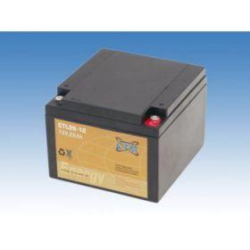 Olověný akumulátor CTM 12V 26Ah závit M5 CTL