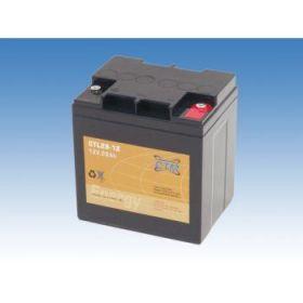 Olověný akumulátor CTM 12V 28Ah závit M5 CTL