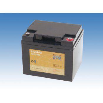 Olověný akumulátor CTM 12V 44Ah závit M6 CTL CTM Components GmbH, Německo