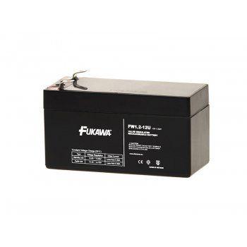 Olověný akumulátor Fukawa 12V 1,2Ah faston F1-4,7mm 43mm