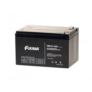 Olověný akumulátor Fukawa 12V 12Ah faston F2-6,3mm