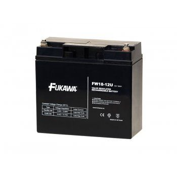 Olověný akumulátor Fukawa 12V 18Ah závit M5 U