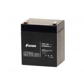 Olověný akumulátor Fukawa 12V 5Ah faston F2-6,3mm