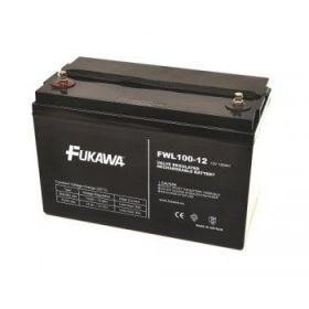 Olověný akumulátor Fukawa 12V 100Ah závit M6