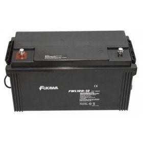 Olověný akumulátor Fukawa 12V 120Ah závit M8