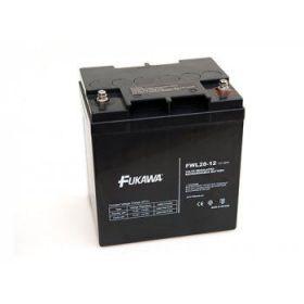Olověný akumulátor Fukawa 12V 28Ah závit M5