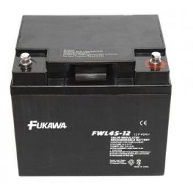 Olověný akumulátor Fukawa 12V 45Ah závit M6