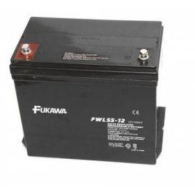 Olověný akumulátor Fukawa 12V 55Ah závit M6