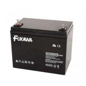 Olověný akumulátor Fukawa 12V 75Ah závit M6