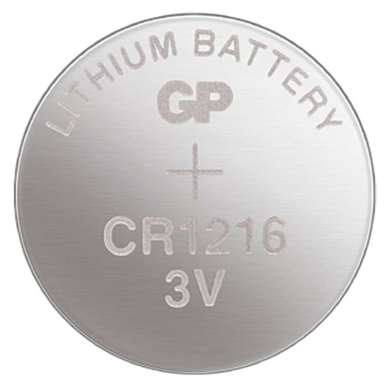 Lithiová knoflíková baterie GP CR1216 - blister