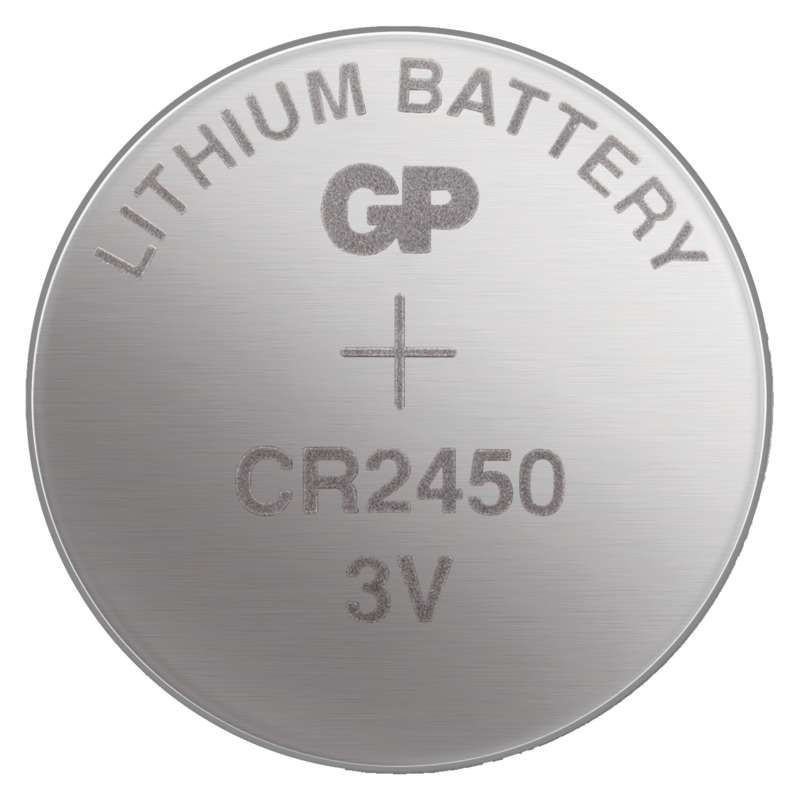 Lithiová knoflíková baterie GP CR2450 - blister