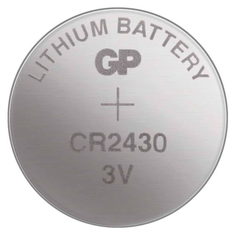 Lithiová knoflíková baterie GP CR2430 - blister