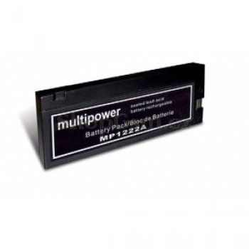 Olověný akumulátor Multipower MP1222A 12V/2Ah