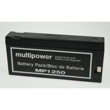 Olověný akumulátor Multipower MP1250 Pb videoaku