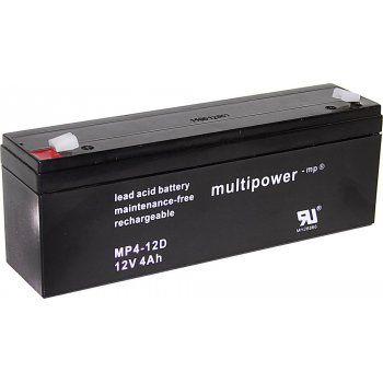 Olověný akumulátor Multipower MP4-12D