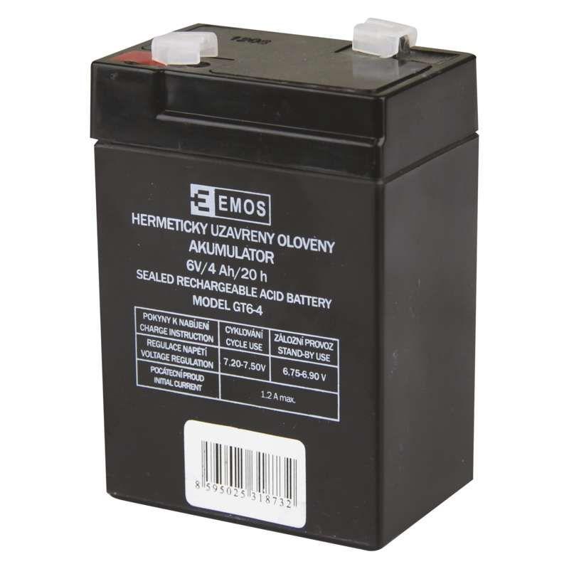 Náhradní akumulátor 6V pro 3810 (P2301, P2304, P2305, P2308) Emos