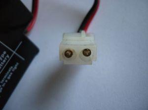 Olověný akumulátor CTM 12V 0,8Ah konektor AMP CTM Components GmbH, Německo