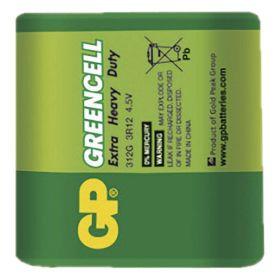 Zinkochloridová baterie GP Greencell 3R12 (4,5V)