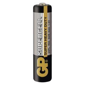 Zinkouhlíková baterie GP Supercell R03 (AAA)
