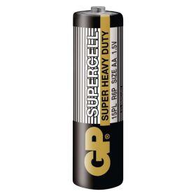 Zinkouhlíková baterie GP Supercell R6 (AA)