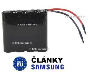Akupack baterie Samsung 14,4V 2000mAh - vývody 10cm kabel