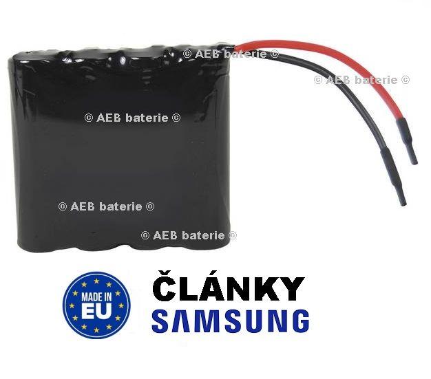 Akupack baterie Samsung 14,4V 2000mAh - vývody 10cm kabel Samsung - AEB
