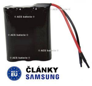 Akupack baterie Ssamsung 7,2V 2000mAh - vývody 10cm kabel Samsung - AEB