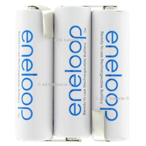 Baterie Panasonic Eneloop 3,6V F1x3 AA 2000mAh s vývody Panasonic - AEB