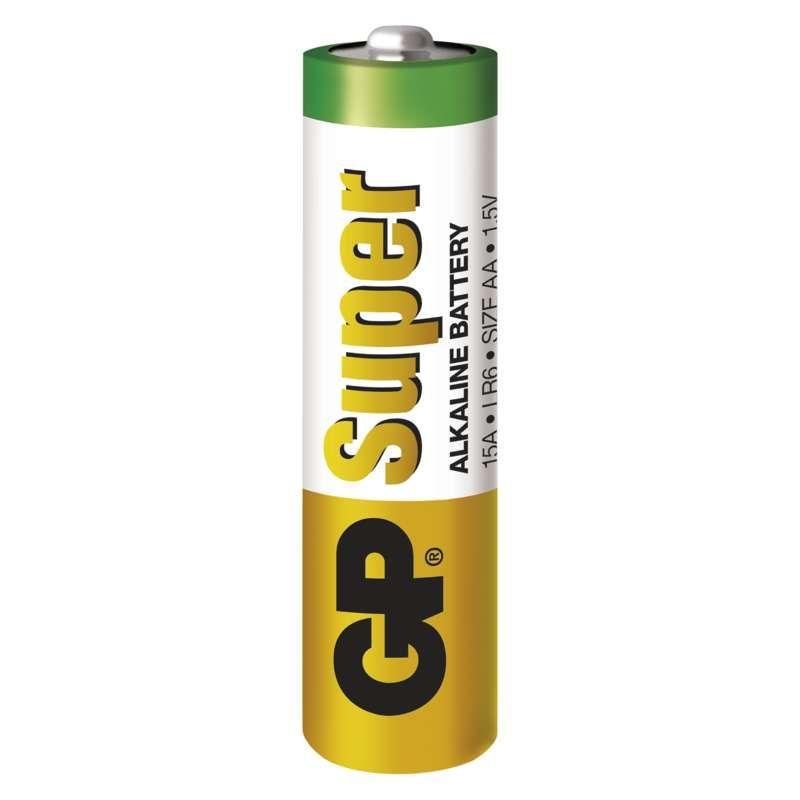Alkalická baterie GP Super LR6 (AA)