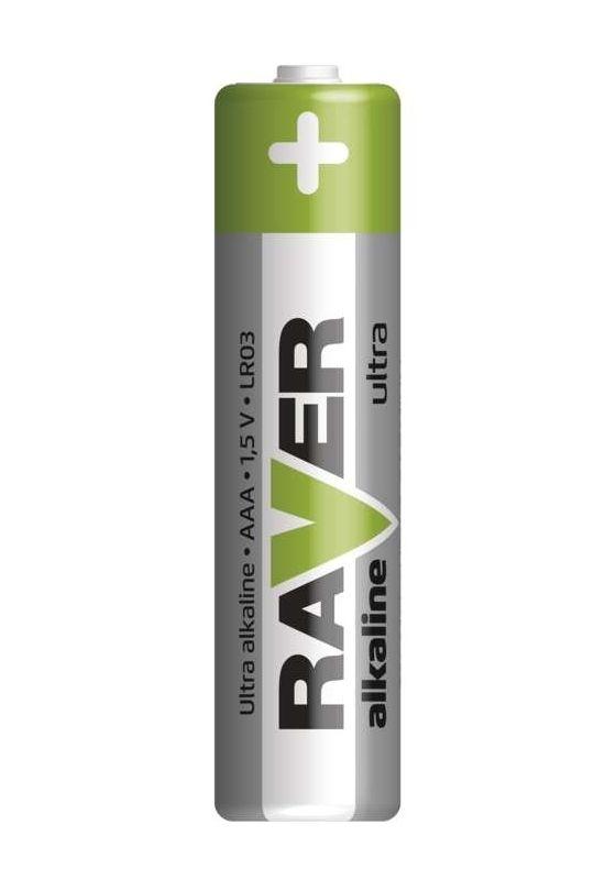 Alkalická baterie RAVER LR03 (AAA) GP